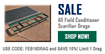 Sale on Field Conditioner Scarifier Drags!