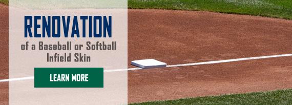How to Renovate A Baseball Or Softball Infield Skin