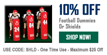 10% Off Football Dummies Or Shields