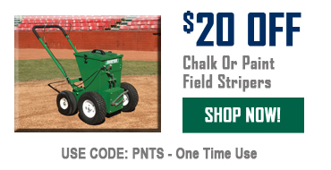 $20 Off Chalk Or Paint Field Stripers